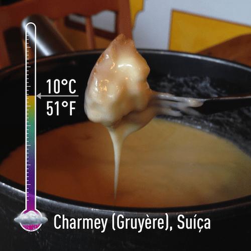 A prova de que mesmo em pleno verão pode fazer muito frio para se jogar num bom fondue!!