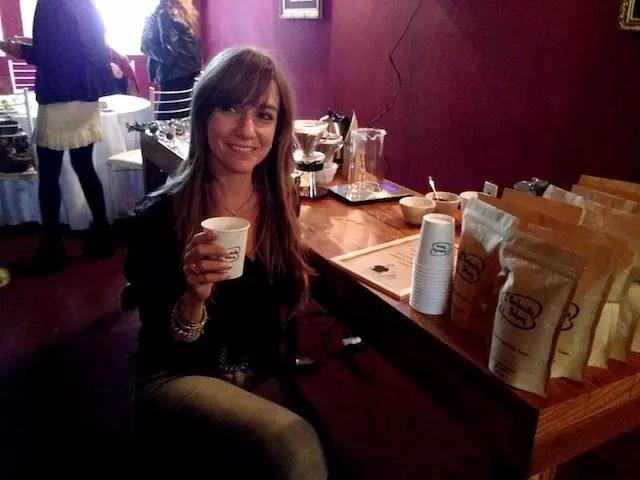 O café e a criadora, Ana Zita