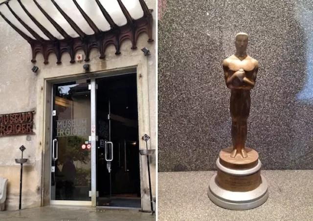 O museu excêntrico do suíço ganhador do Oscar por Alien - MUSEU HR GIGER
