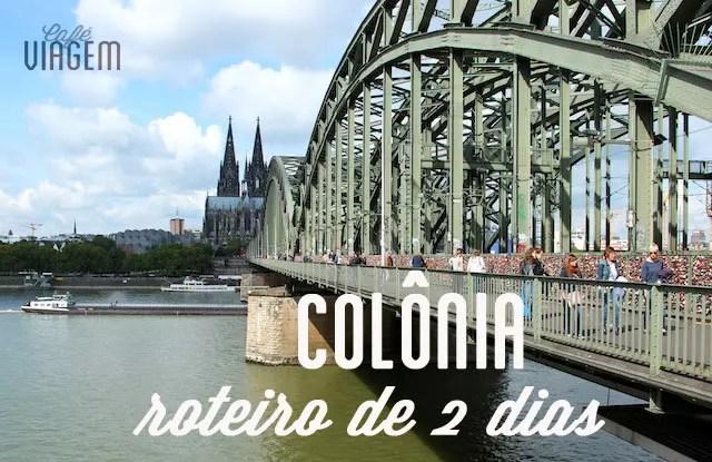 Roteiro Colonia Alemanha d
