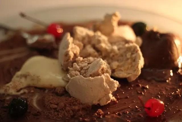 Chocolate e suas texturas, a sobremesa do menu Namorados em 2014