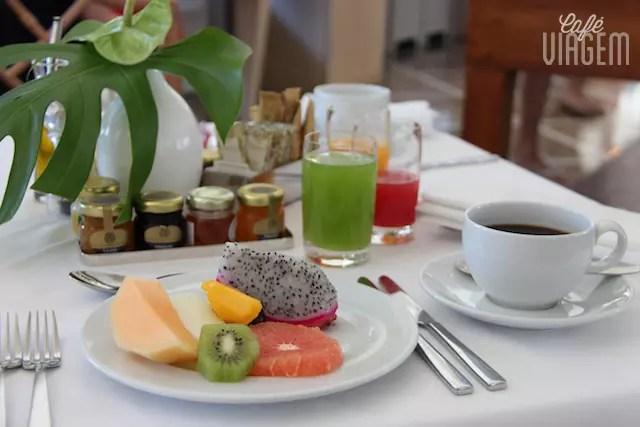 O café da manhã é um soooonho