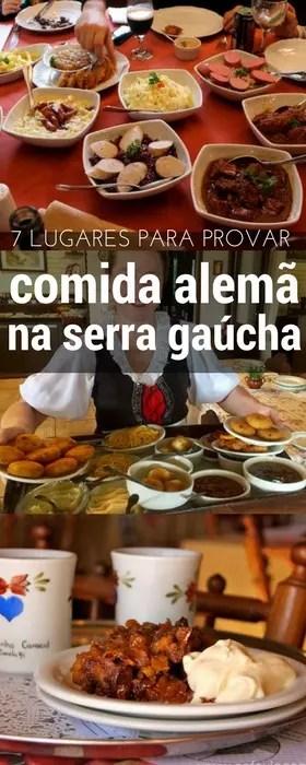 comida alemã na Serra Gaúcha