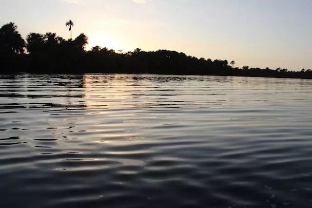 O Rio Preguiças, um dos cartões postais de Barreirinhas