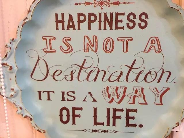 A felicidade não é um destino, é o jeito que você leva a vida. Mas se for para Canela, vai ser feliz,, isso vai.