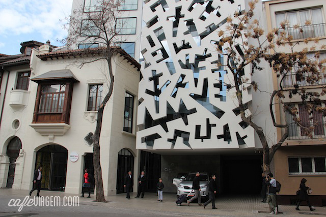 O hotel Cumbres Lastarria