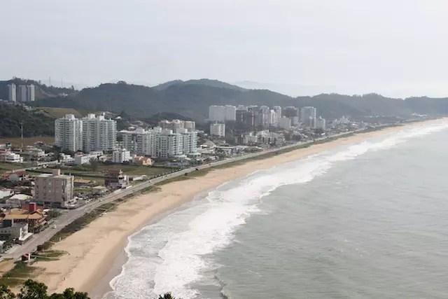 A vizinha, a Praia Brava