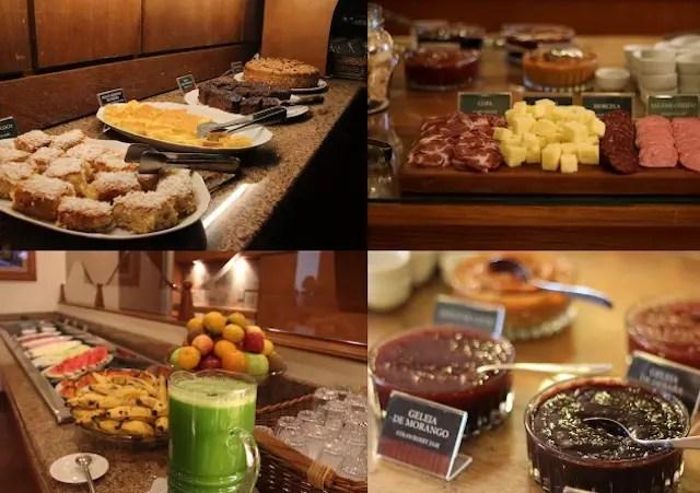 Cafe da manha Hotel Alpestre