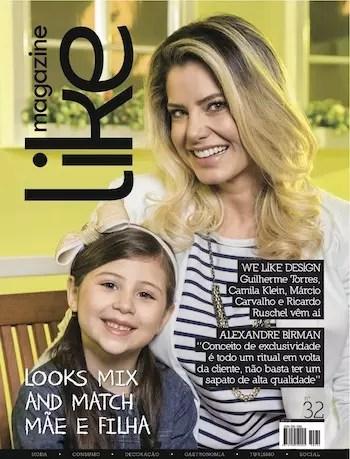A capa da revista de outubro