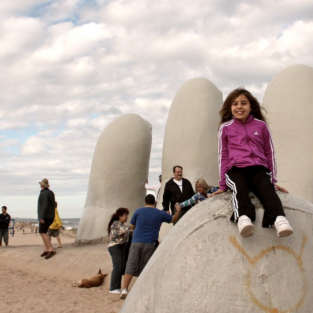 Punta del Este com crianças