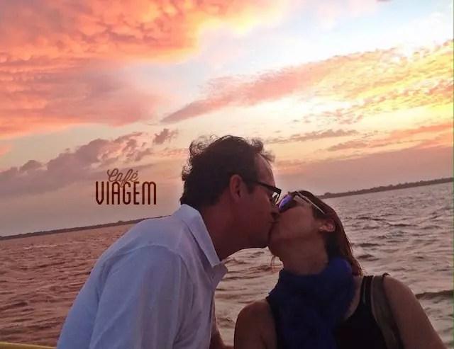 deu pra namorar e comemorar bastante em Belém!