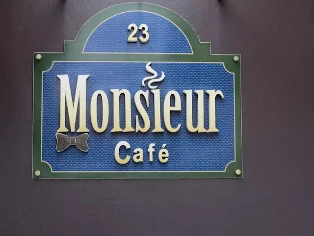 Cafe Monsieur