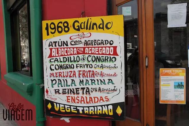 onde comer em Santiago do Chile