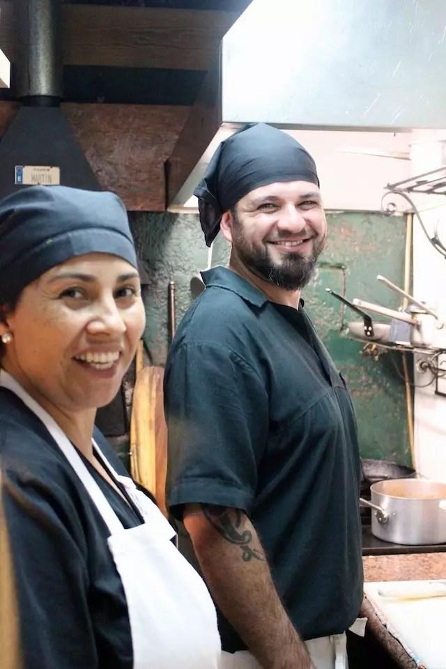 A simpatia do Chef e sua ajudante