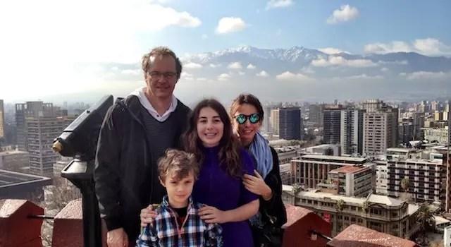 Santiago do Chile em Familia e