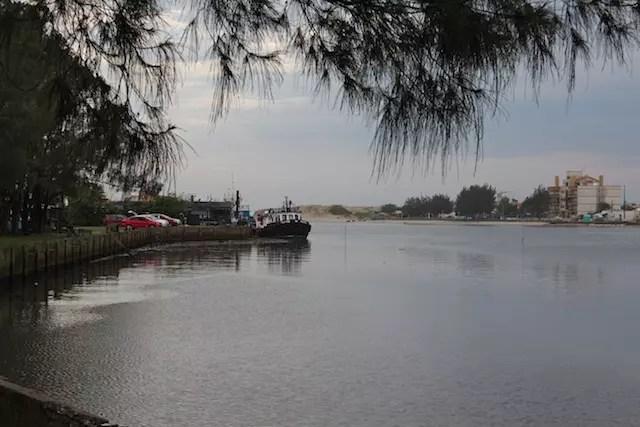 passeio de barco em Imbé e Tramandaí