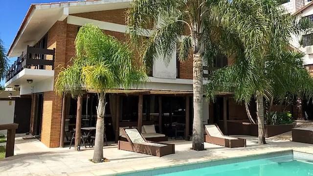 Foto em dia de sol do site Lira Hotel (só pegamos chuva!)
