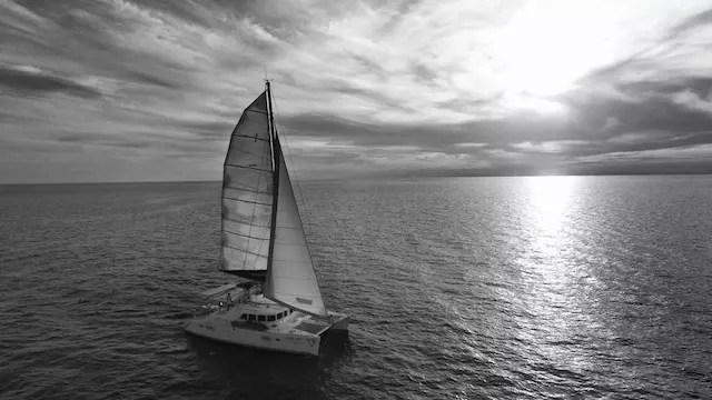 Enfim, a grande aventura no catamaran
