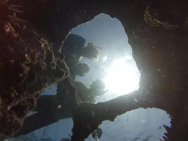 Naufrágio Ilha Perro.