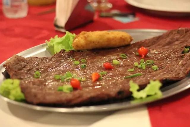 meu prato favorito: a carne de sol de filé