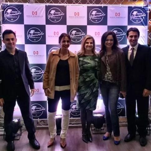 Café Viagem e Vou Viajar no Festuris com Marcus Vinícius Rossi, Marta Rossi e Eduardo Zorzanello (diretores do FESTURIS)