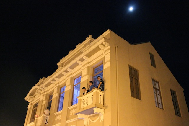 Até a lua cheia compareceu na 6a edição do Garibaldi Vintage, acredita???