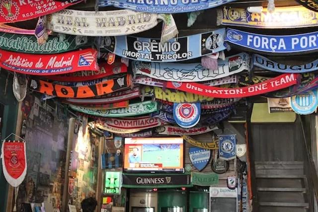 Rua do Futebol em Porto Alegre