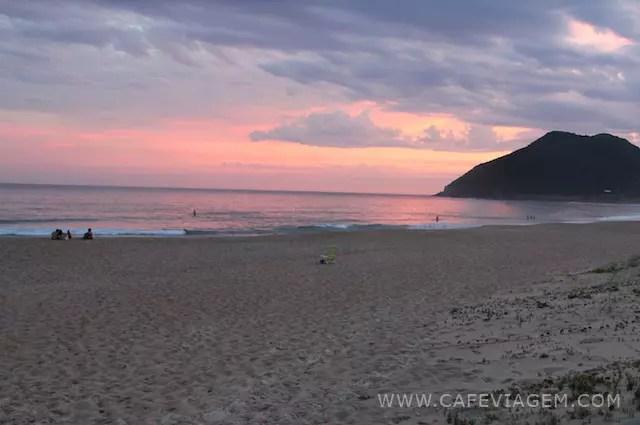 Praia da Silveira Santa Catarina