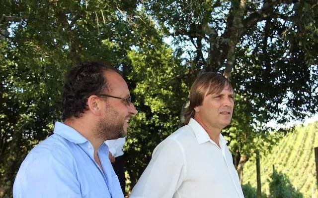 Irineo Dall Agnol e Alejandro Alberto Cardozo Rapetti , sócios da Estrelas do Brasil