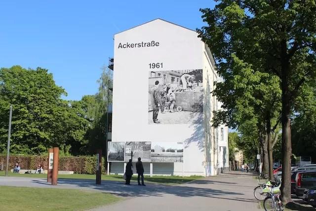 onde ver o muro de Berlim