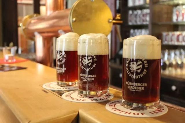 Cervejas em Nuremberg 9. Hausbrauerei Altstadthof