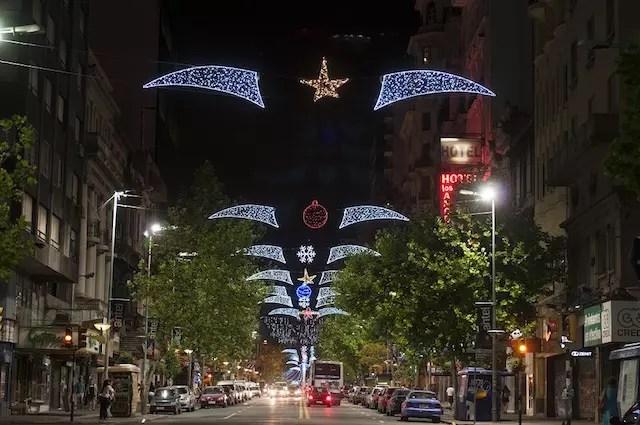 natal e ano novo Montevidéu