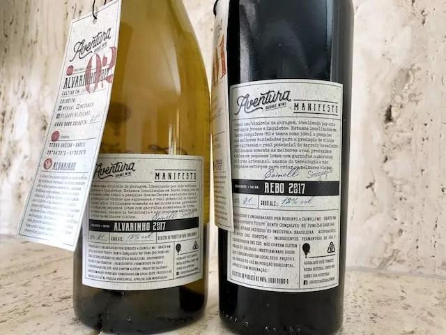 vinho de garagem Aventura