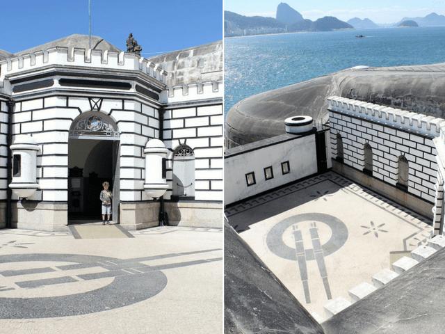 visita ao Forte de Copacabana
