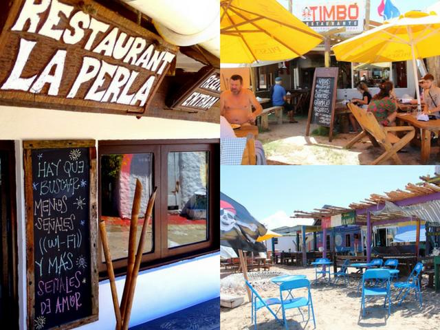 onde comer em Cabo Polonio