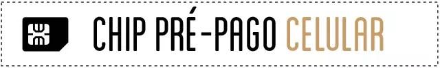 Chip Pré-pago Celular