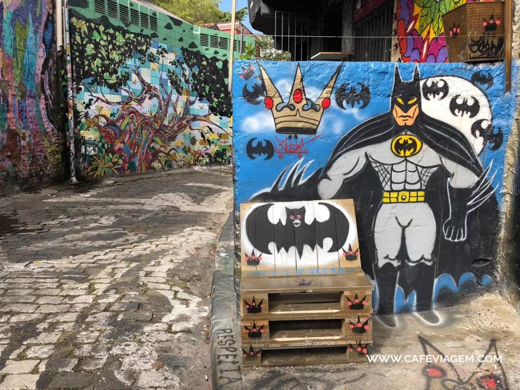 Beco do Batman na Vila Madalena