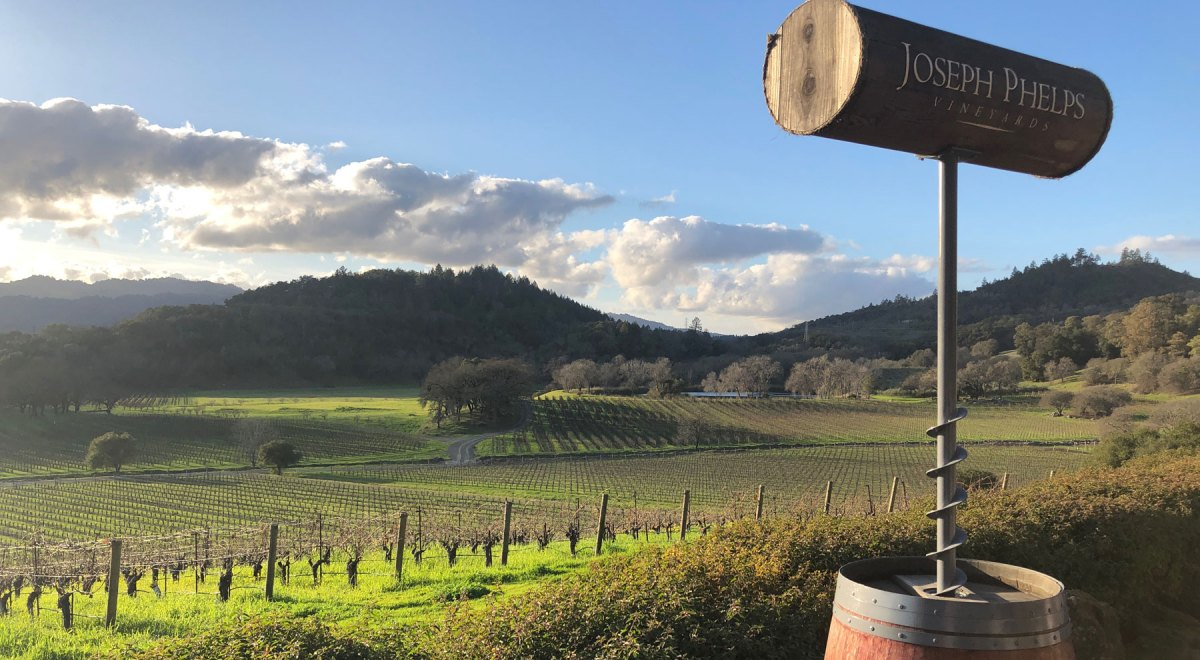 Joseph Phelps no Napa Valley