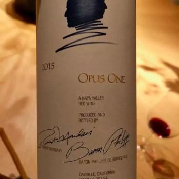 Opus One 2015