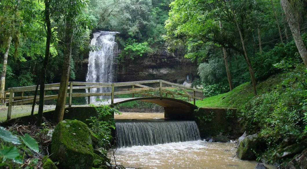Parque da Gruta em Otávio Roch