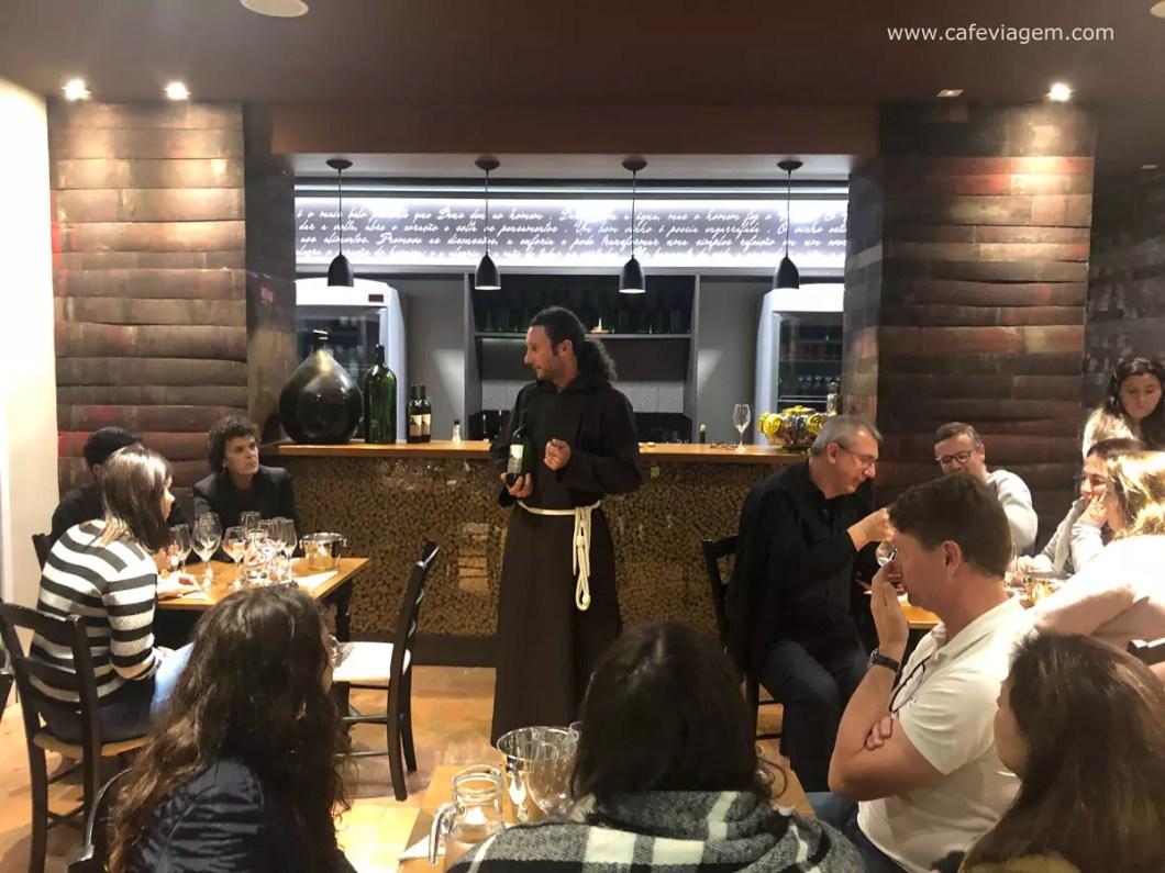 Vinhos Frei Fabiano degustação