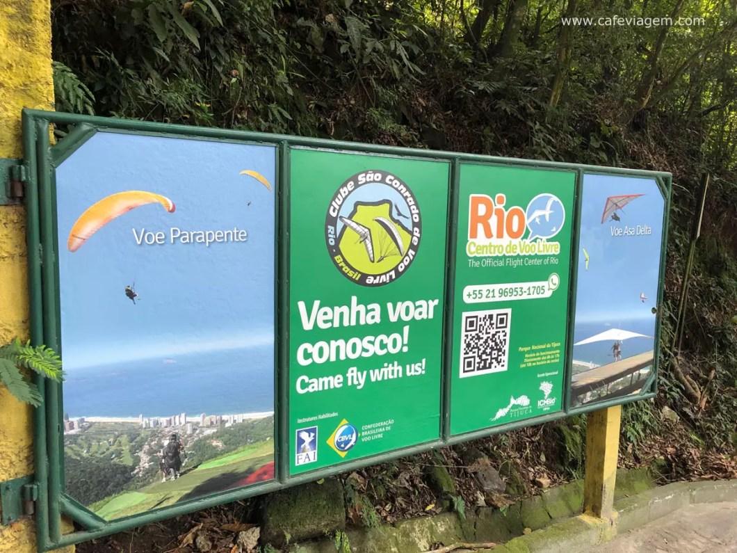 voo livre Rio Pedra Bonita
