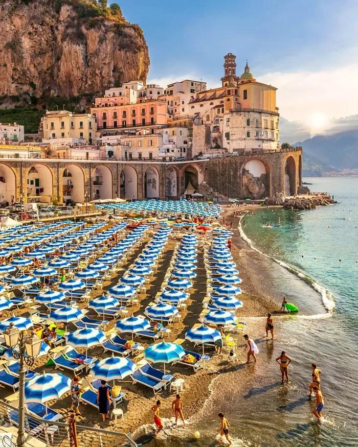 Positano lua de mel Sul da italia