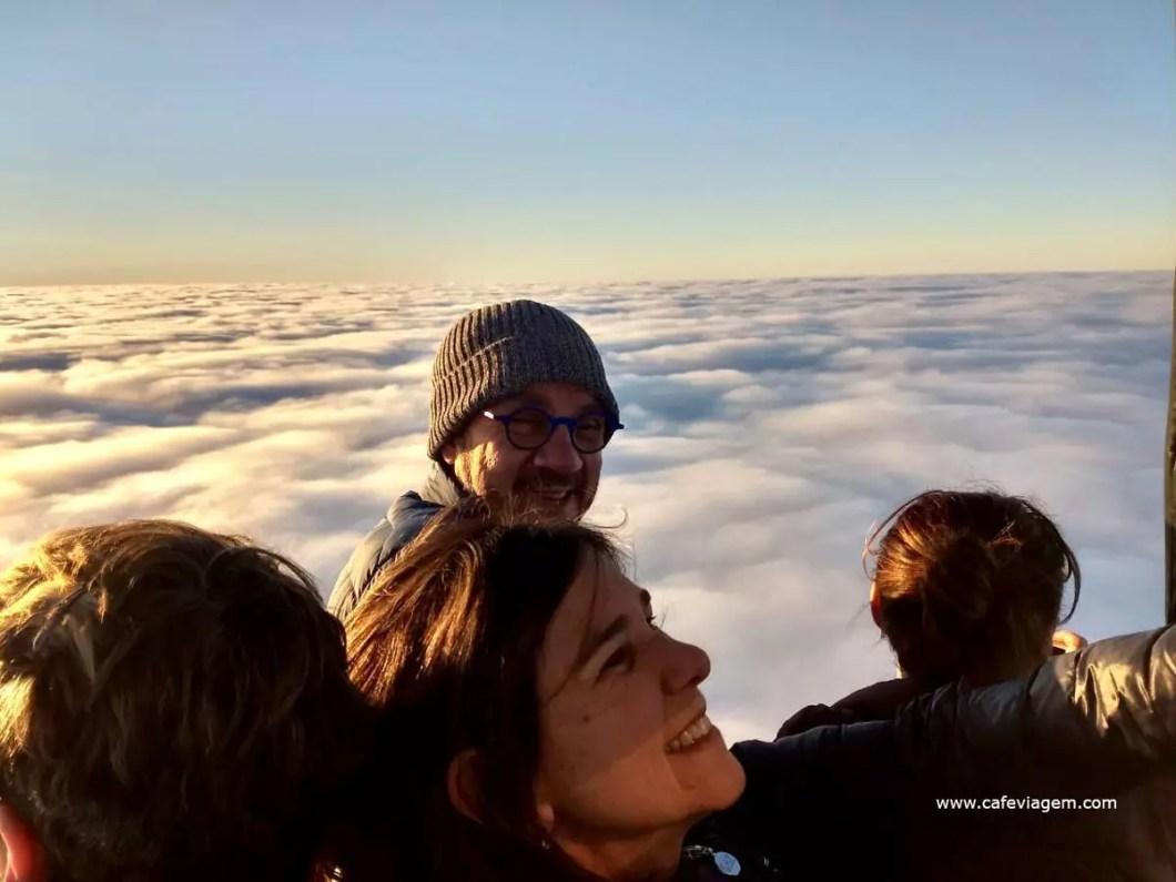 voo de balão em Torres