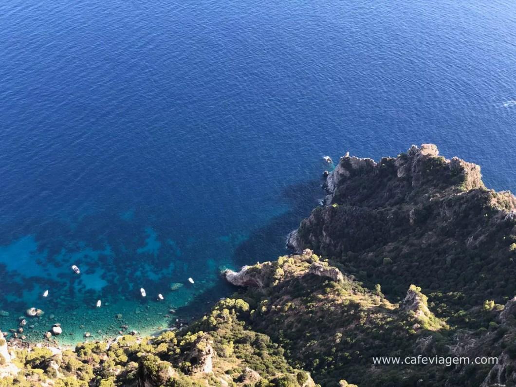Praias em Capri