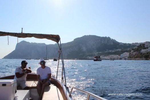 tour privativo barco em Capri