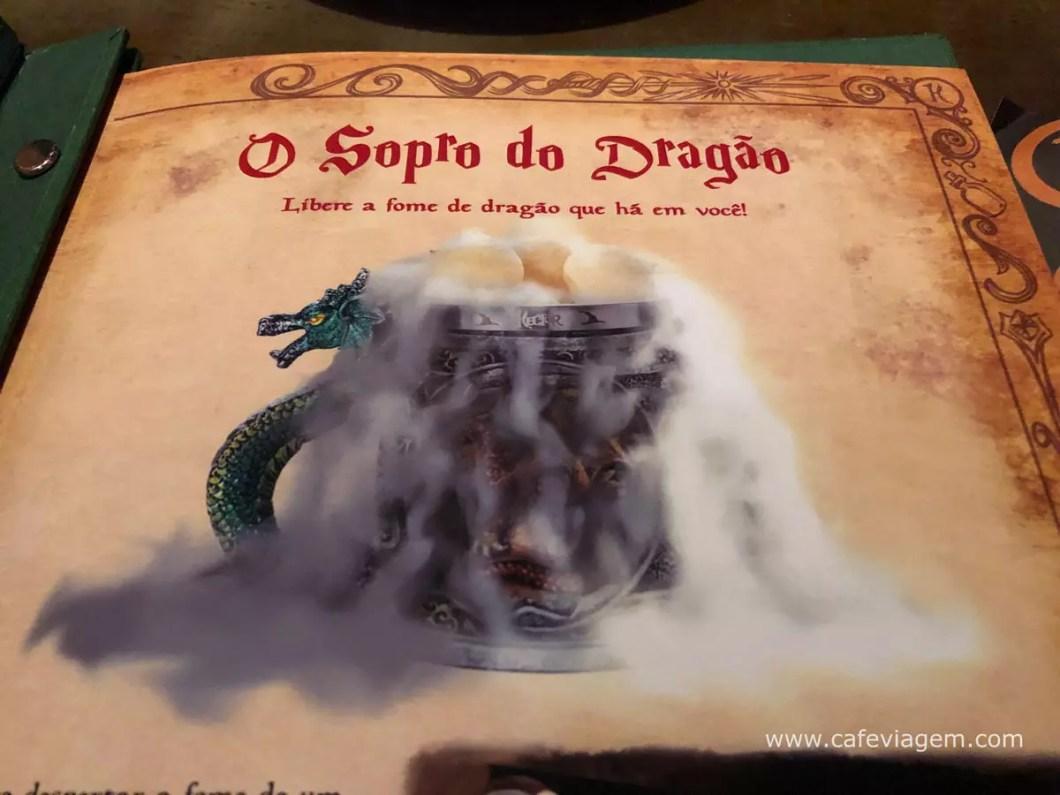 sopro do dragão