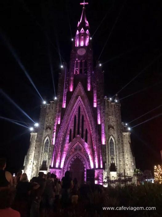 Sonho de Natal Canela show Catedral