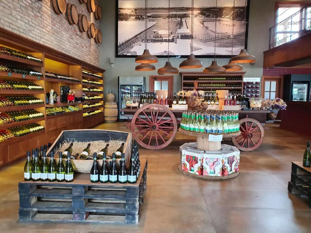 loja Campestre vinícola