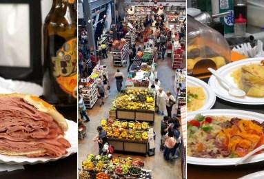 mercados gastronômicos de São Paulo